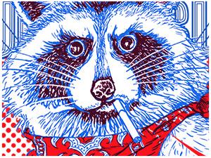 Super Bad Raccoon!