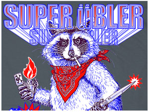 Super BAD Raccoon! TeePublic T-shirt